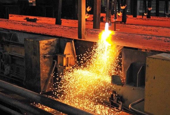 Украинские металлурги занимают 11 место в мировом рейтинге по объемам производства