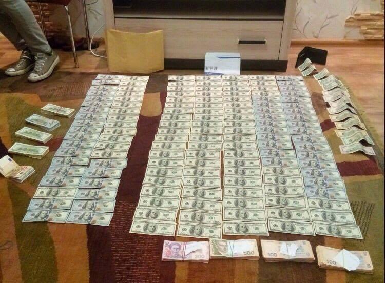 Судья в Днепре задержан при получении взятки