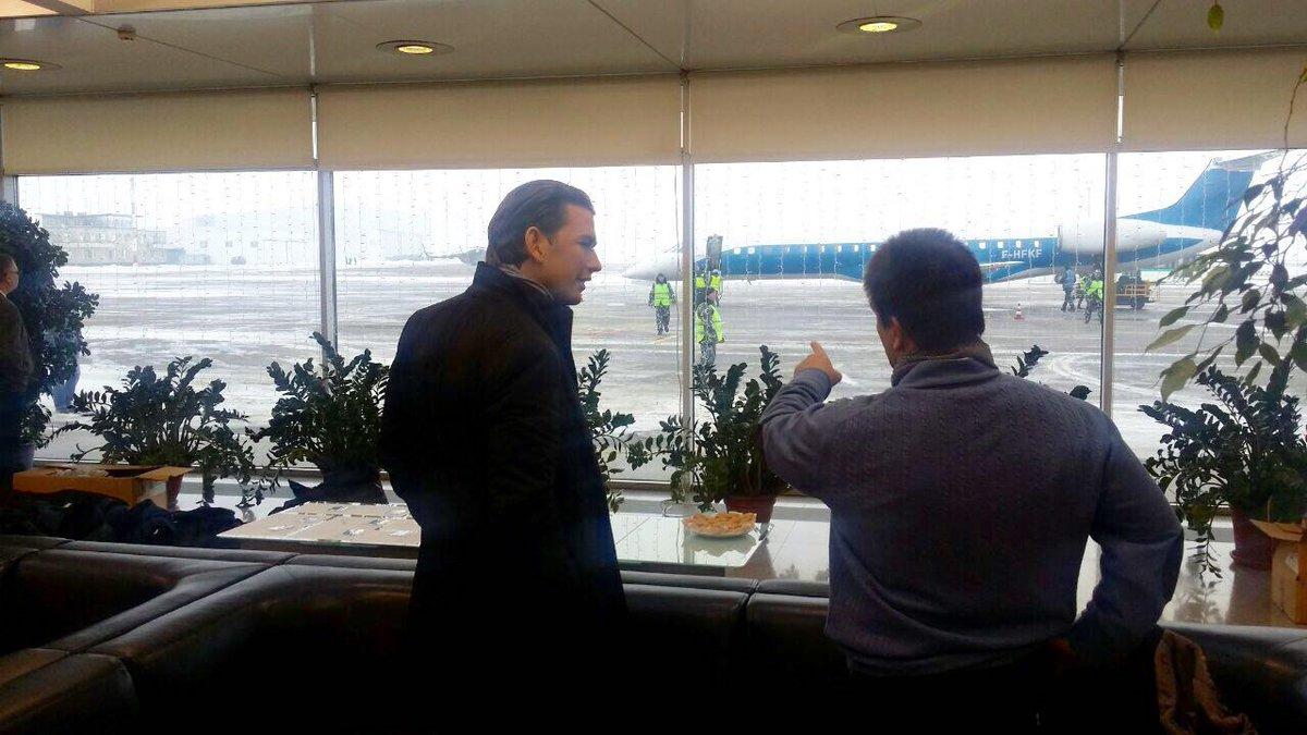 Новый австрийский председатель ОБСЕ Себастьян Курц прибыл в Мариуполь