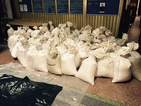 В Ровенской области задержана рекордная партия янтаря на $3 млн
