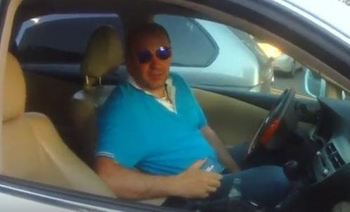 Обнародовано видео общения полицейских с нардепом Мельничуком