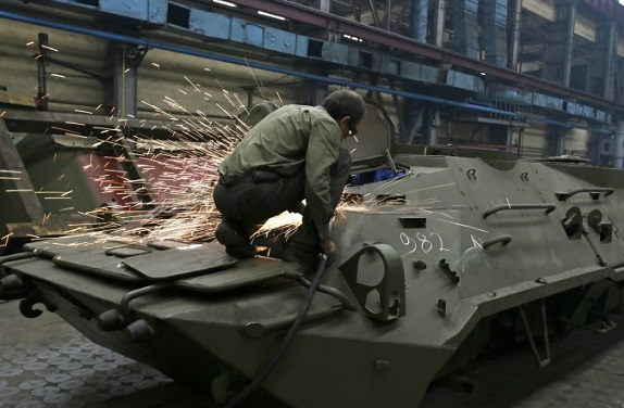 Украина построит завод боеприпасов за 1,4 млрд грн – Порошенко