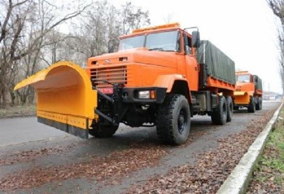 «Киевавтодор» пополнился новыми автомобилями КрАЗ