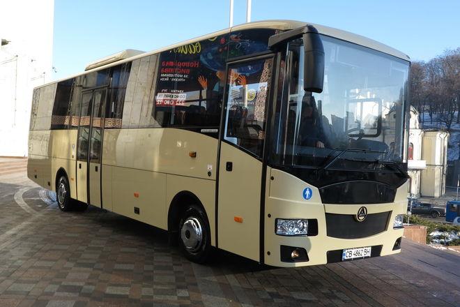 Озвучена тройка лидеров популярных автобусов в Украине