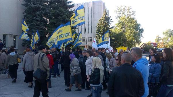 Активисты партии Каплина сорвали дерибан ценных месторождений на Полтавщине