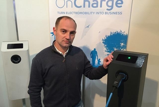 В Киеве разработали уникальную smart - зарядку для электромобилей с 4G
