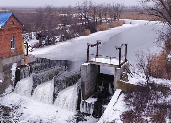 На Днепропетровщине запустили первую мини - ГЭС