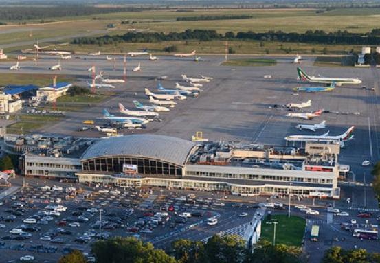 Украинские аэропорты нарастили пассажиропоток на 20-60%