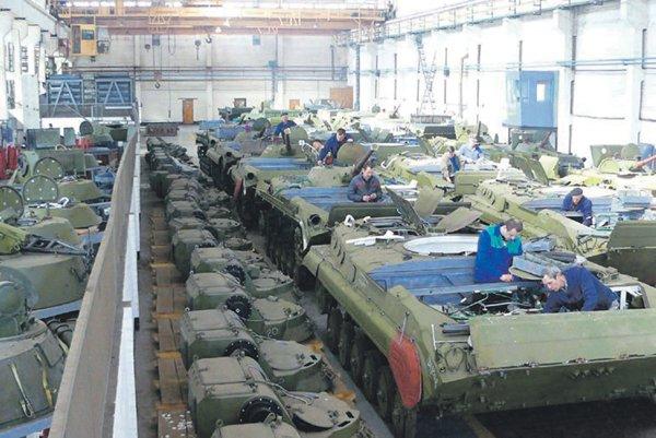 На Житомирском бронетанковом заводе поляки помогут производить оптику