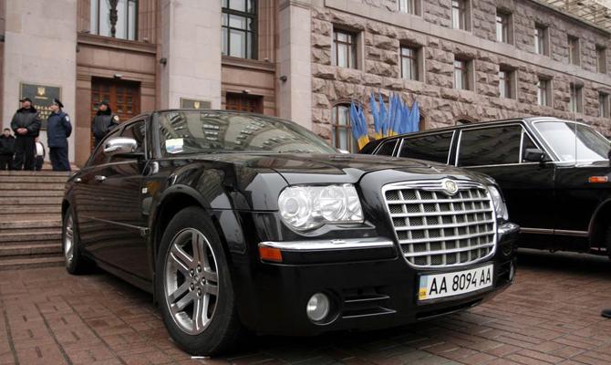 Кабмин с нарушениями купил 19 новых автомобилей