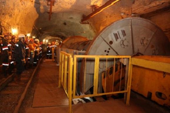 «АМКР» запускает новый комплекс транспортировки железной руды