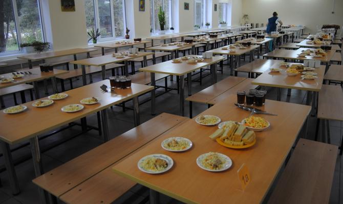 Минздрав устроит рейды на школьные столовые в Украине