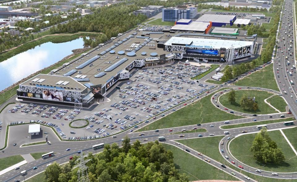 В Украине 1 декабря откроют самый большой торговый центр Blockbuster Mall