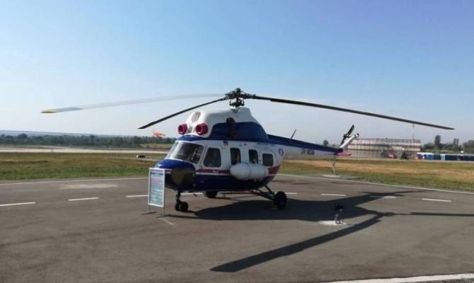 «Мотор Сич» представила первый вертолет собственного производства