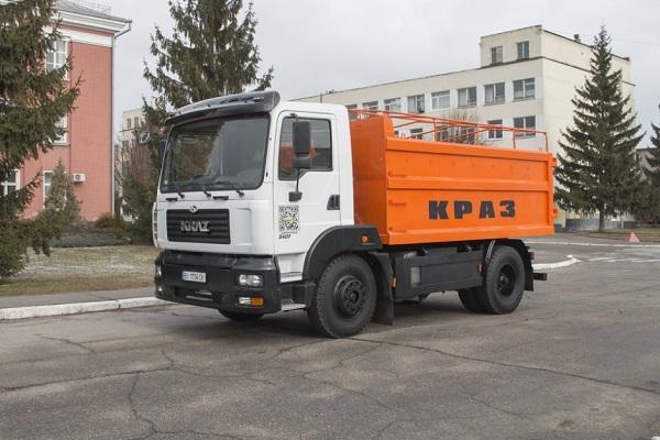 «КрАЗ» презентует новый самосвал-зерновоз