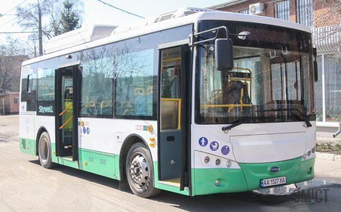 В Полтаве презентовали китайский электробус