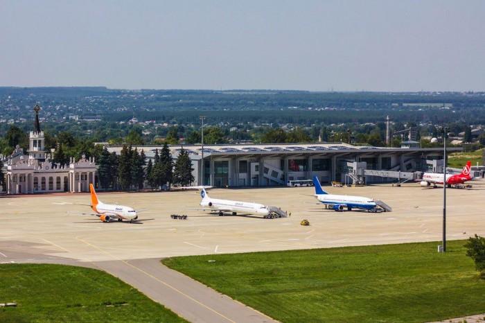 Аэропорт Харьков нарастил пассажиропоток на 19 %