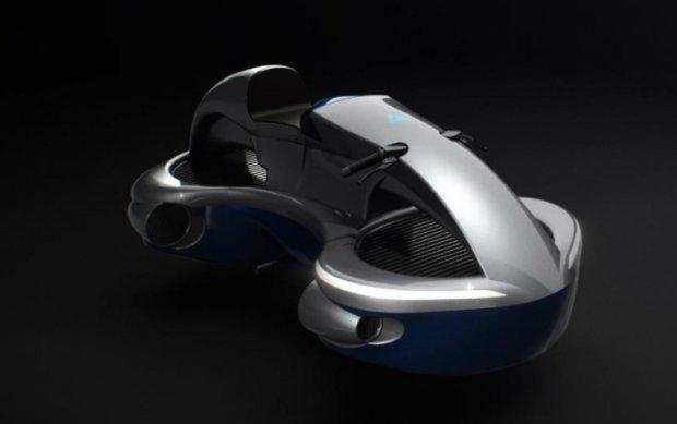 В Японии разработали летающий мотоцикл