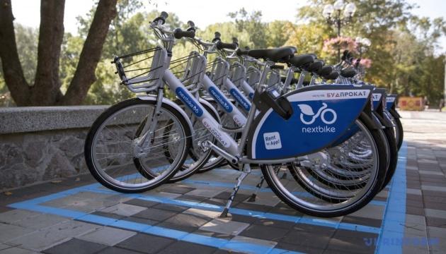 В Киеве увеличится количество пунктов велопроката