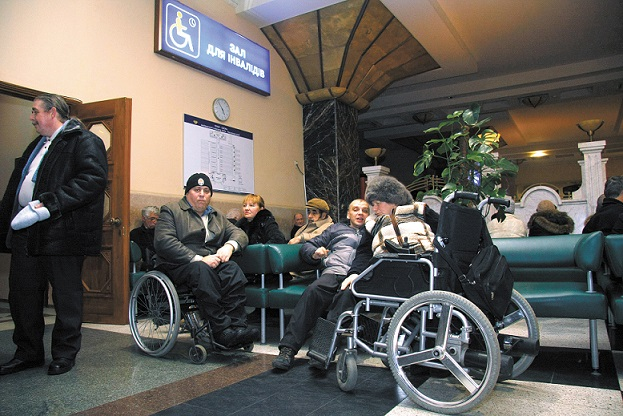 УЗ запустит онлайн-бронирование железнодорожных билетов для людей с инвалидностью