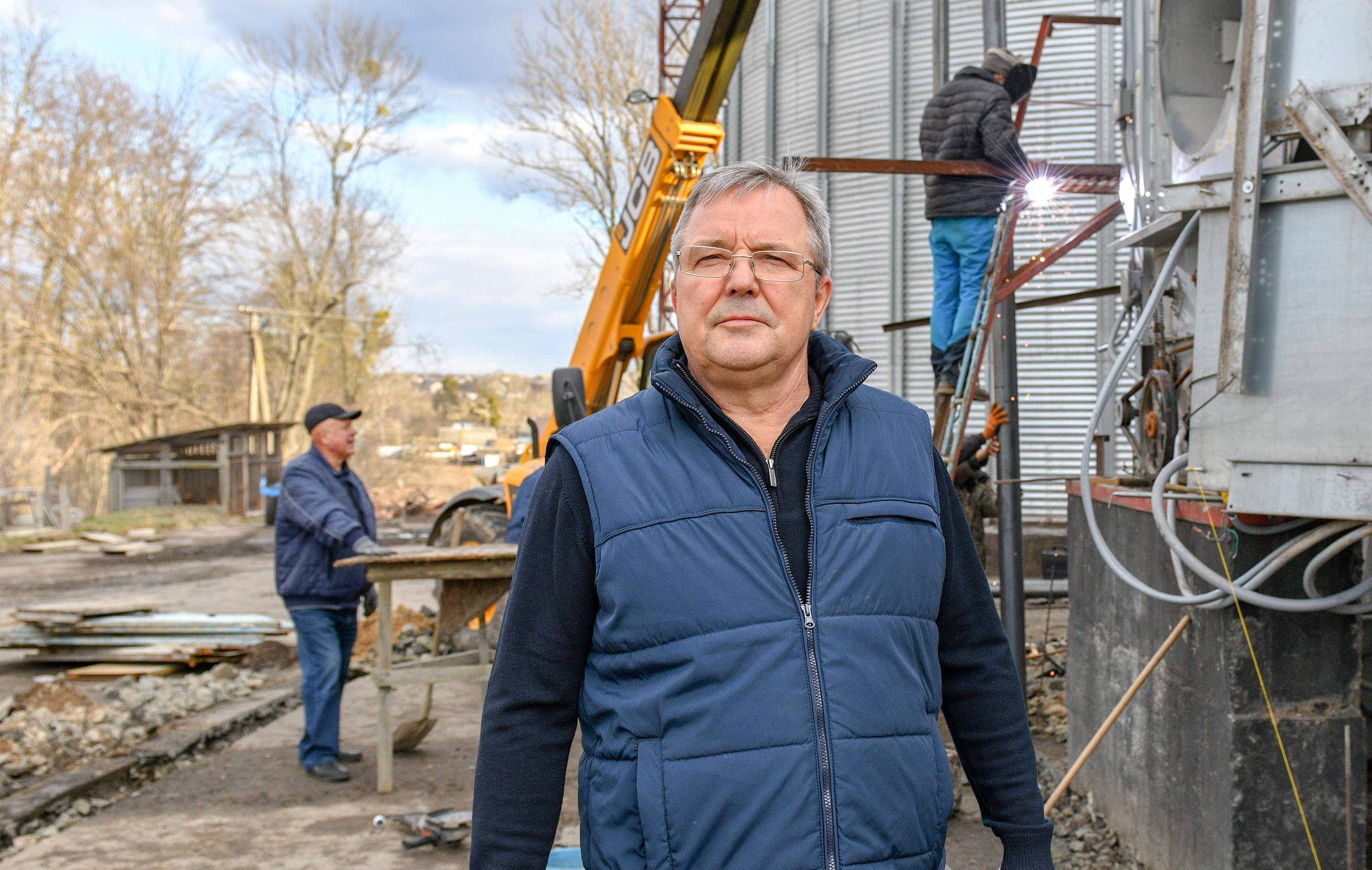 Лапицкий Геннадий Григорьевич, фермер из Володарки на Киевщине