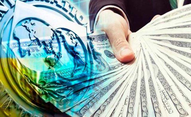 Украина получила первый транш кредита МВФ по новой программе