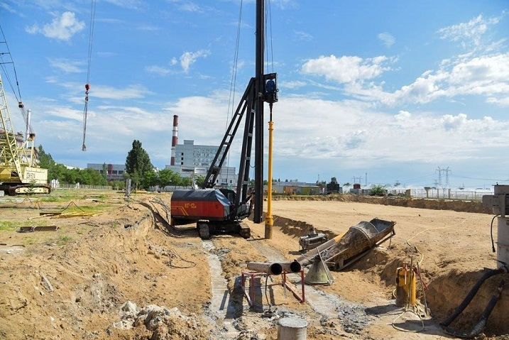На ЗАЭС начали строить хранилище для радиоактивных отходов