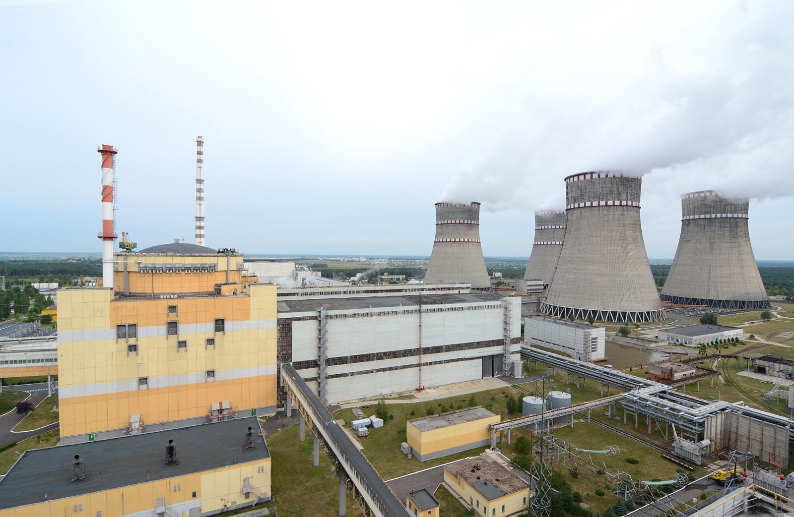 На РАЭС отключен энергоблок