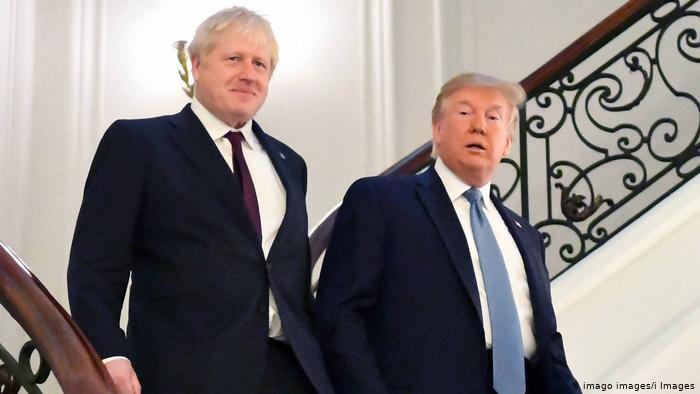 Трамп предложил Джонсону большое торговое соглашение