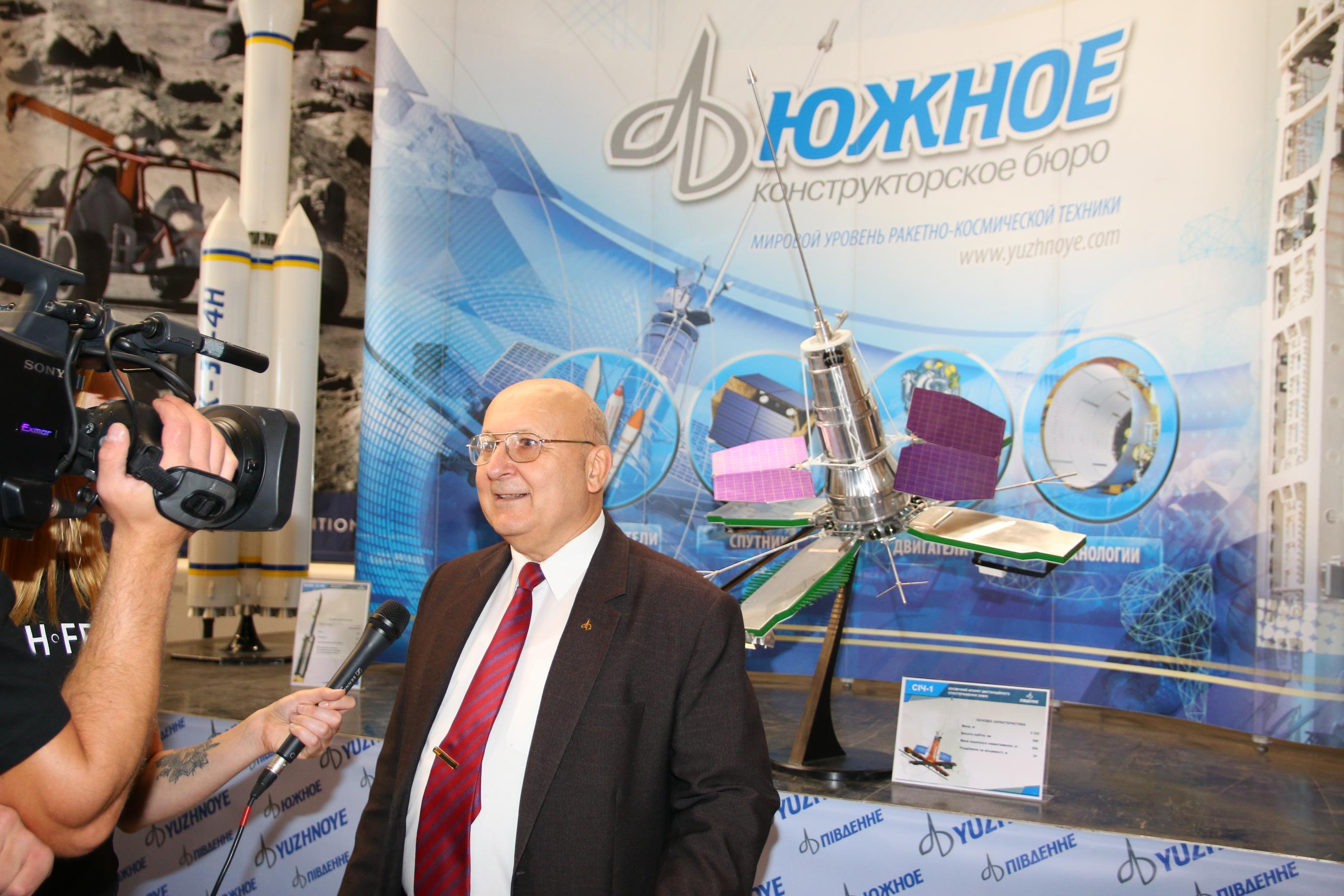 Александр Логинов, КБ «Южное»: Мы знаем, что украинская ракета «Зенит» лучше Falcon Маска