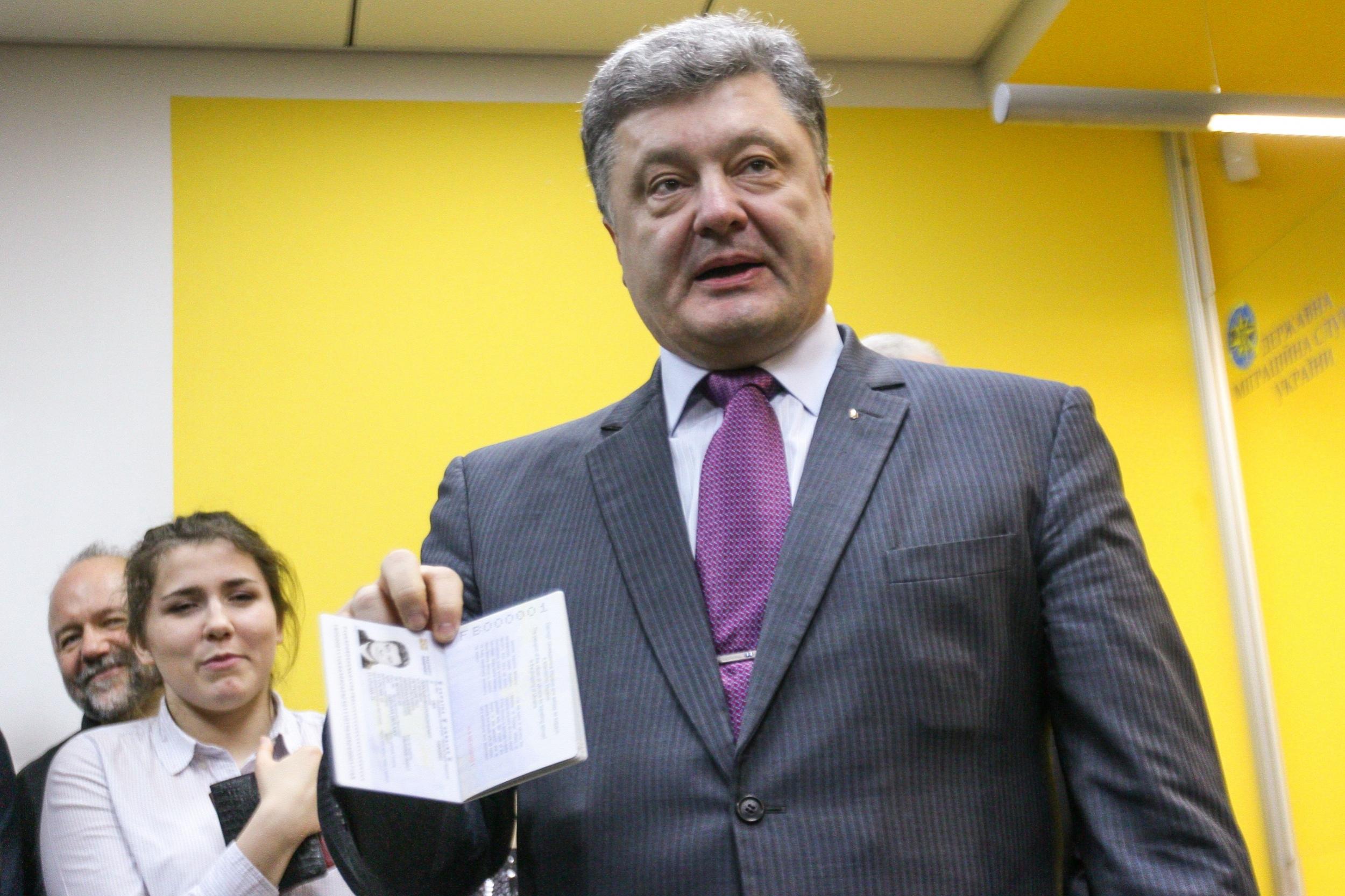 Украинский паспорт входит в 30-ку самых сильных паспортов мира