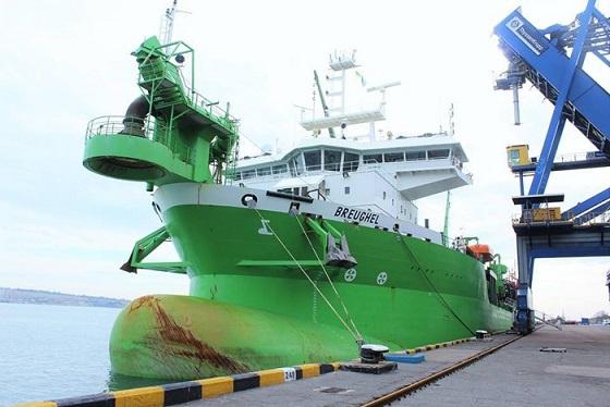 DEME Group закончила дноуглубительные работы в порту «Южный»