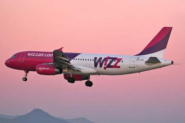Wizz Air презентовал три новых маршрута из Киева
