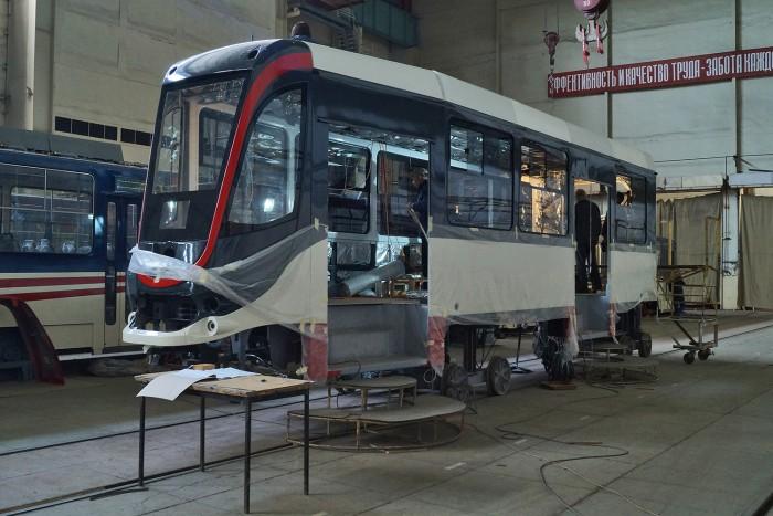 «Татра-Юг» в июне поставит в Египет первую партию трамваев