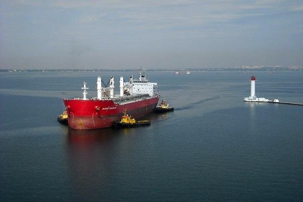 В первом квартале морпорты Украины обработали 2853 судна