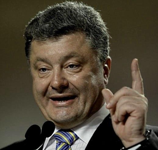 Обнищание населения Украины является следствием российской агрессии - президент Порошенко