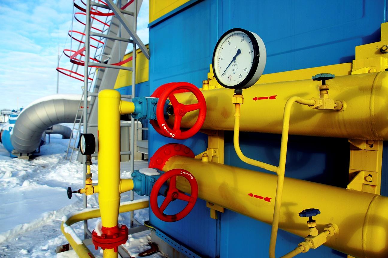 Транзит российского газа через Украину увеличен на 22%