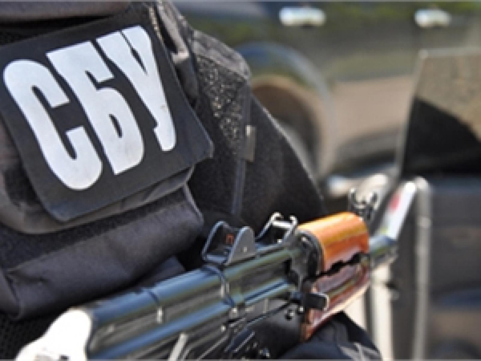 В одном из гаражей в Запорожской области было найдено 40 кг похищенной взрывчатки