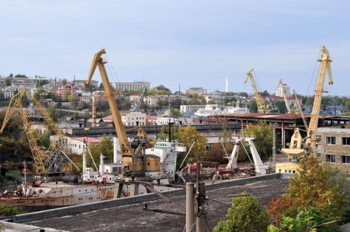 В Севастополе падение промпроизводства составило 80%