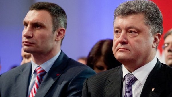 Партии Порошенко и Кличко наметили слияние на 27 августа
