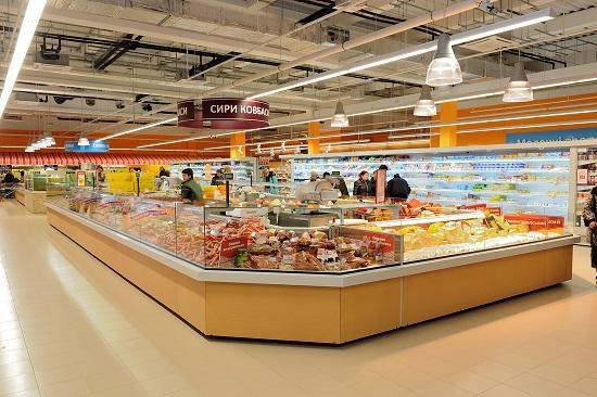 В первом полугодии в Украине открылось 229 продуктовых супермаркетов