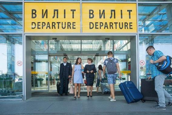 Сегодня Международный аэропорт «Киев» (Жуляны) встретит миллионного пассажира 2017 года