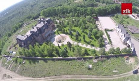 Под столицей журналисты нашли дворец, который записан на отца губернатора Киевщины