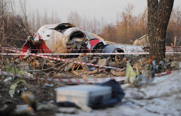 Смоленская катастрофа: крыло самолета Качиньского было взорвано изнутри