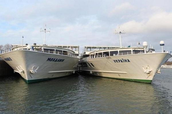 Украинское Дунайское пароходство начинает модернизацию пассажирских судов «Молдавия» и «Украина»