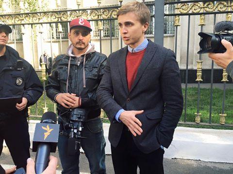 В Киеве СБУ задержала журналистов, проводивших расследование