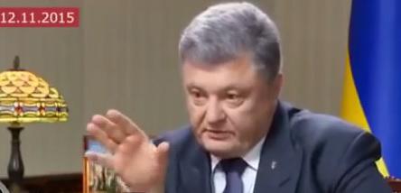 Журналист неудобными вопросами заставил Порошенко нервничать: видео