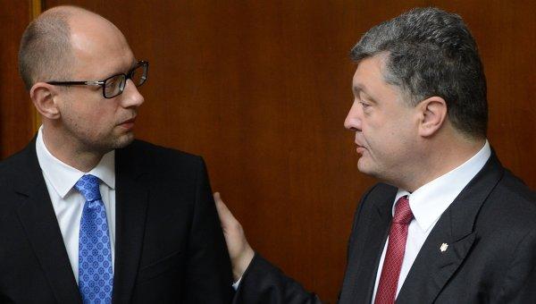 Кабмин с подачи Порошенко запретил грузоперевозки в Крым
