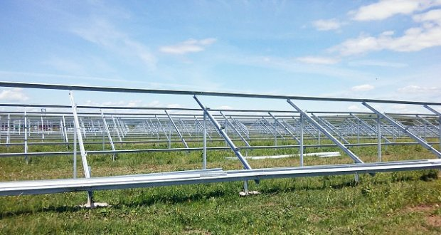 На Ивано-Франковщине построили солнечную электростанцию