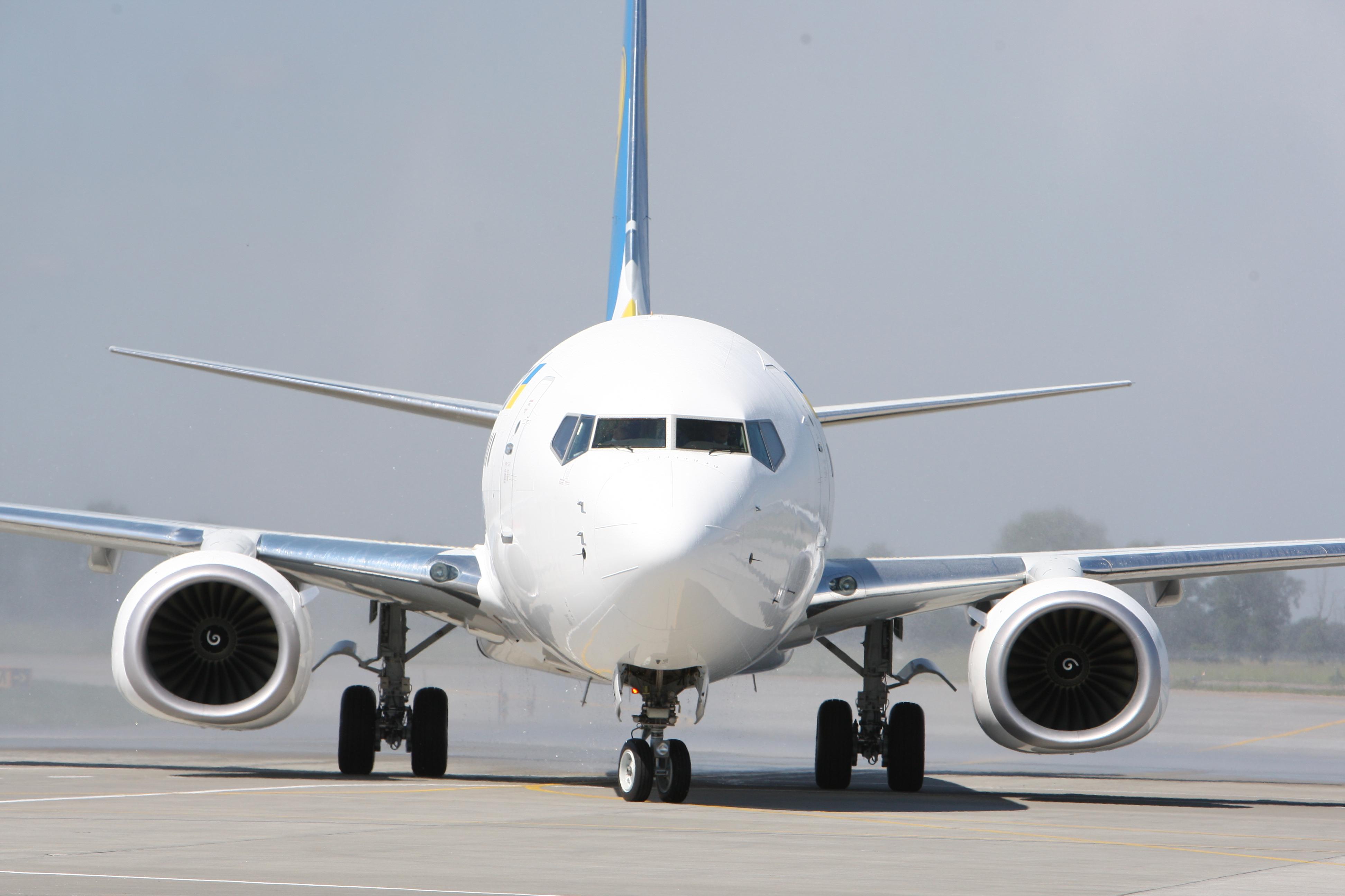 Украинские аэропорты увеличили пассажиропотоки на 17,8%